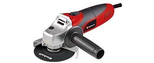 Einhell 4430619 TC-AG 125 - Amoladora Angular, Diámetro de 125 mm, sin Disco de Corte, 850 W, 230 V, color Rojo/Negro