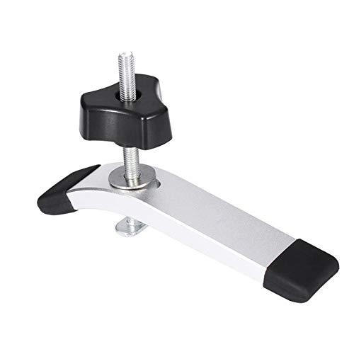 Abrazadera para carpintería T-Slot Slot Metal Rápido Actuación de la fijación Mantenga presionado Set de sujeción M8 8mm T-Tornillo T-Tornillo Rodado para T-Slot T-Track Herramienta de carpintería Abr