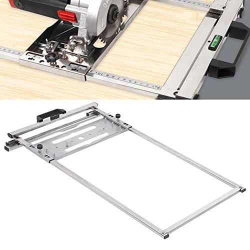 Herramienta de posicionamiento de corte para carpintería, para el corte de tableros de madera, para cortadora de sierra circular eléctrica