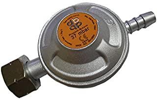 37 mbar regulador de la bombona de gas butano medio de conexión BSP - encaja botella tornillo de Calor