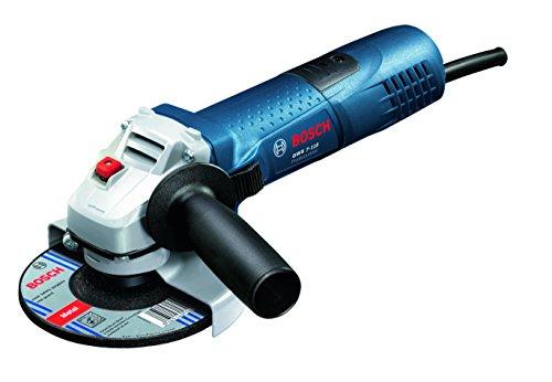 Bosch Professional GWS 7-115 - Amoladora angular (720 W, 11000 rpm, Ø Disco 115 mm, en caja)
