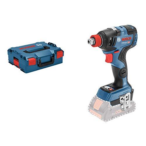 Bosch Professional GDX 18V-200 C - Llave de impacto a batería (18V, 200 Nm, conectable, sin batería, en L-BOXX)