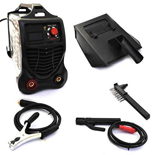 FAST WORLD SHOPPING® - Soldadora eléctrica con electrodo 300 amperios Inverter, máquina de soldar portátil