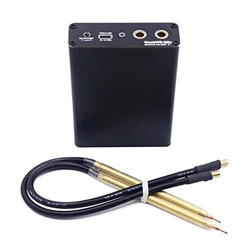 Máquina de soldadura por puntos de bricolaje, mini herramienta de soldadura por puntos portátil para batería de litio 18650 soldador por puntos cinturón Níquel Mini soldador puntos fibra doméstica
