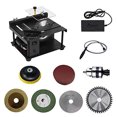 Sierra circular de mesa, 200 W, multifunción, sierra circular de mesa, sierra de pulido eléctrica para bricolaje modelo Crafts
