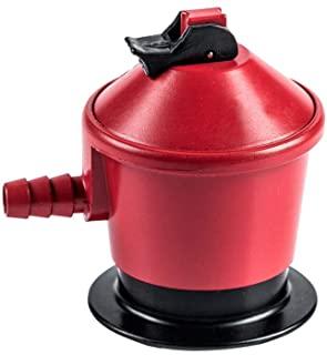 S&M Regulador 50 mbar para Botellas De Gas Butano O Propano, Rojo