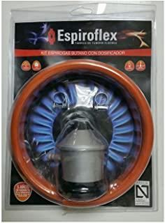 Espiroflex M119547 - Regulador butano con 1.50 m manguera gas