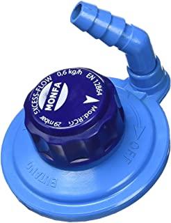 MONFA Grifo Regulador Giratorio M16 (botella Azul), azul