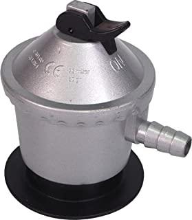 Sanfor Regulador Bombona Gas butano de 12 kg de uso doméstico   Homologado (UNE-EN12864)   Color Plateado   Talla única